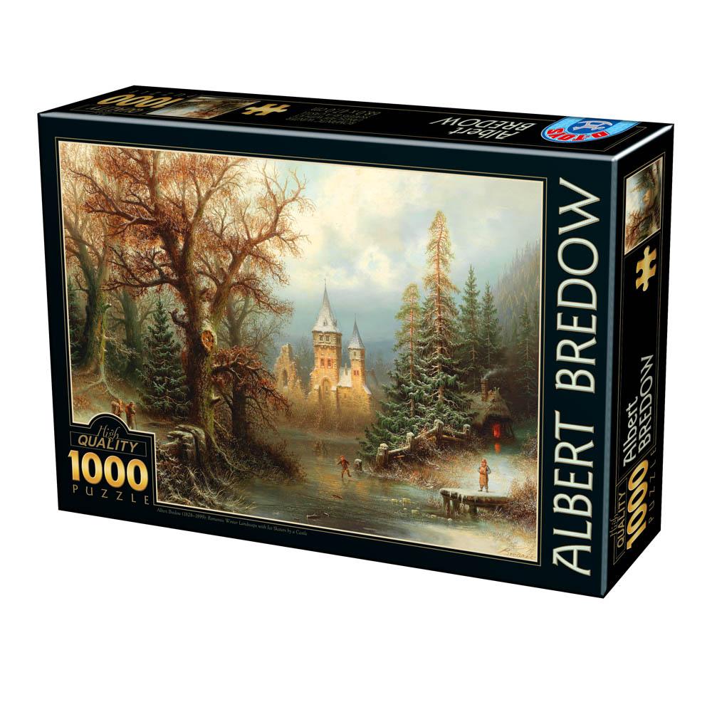 albert-bredow-romantic-winter-landscape