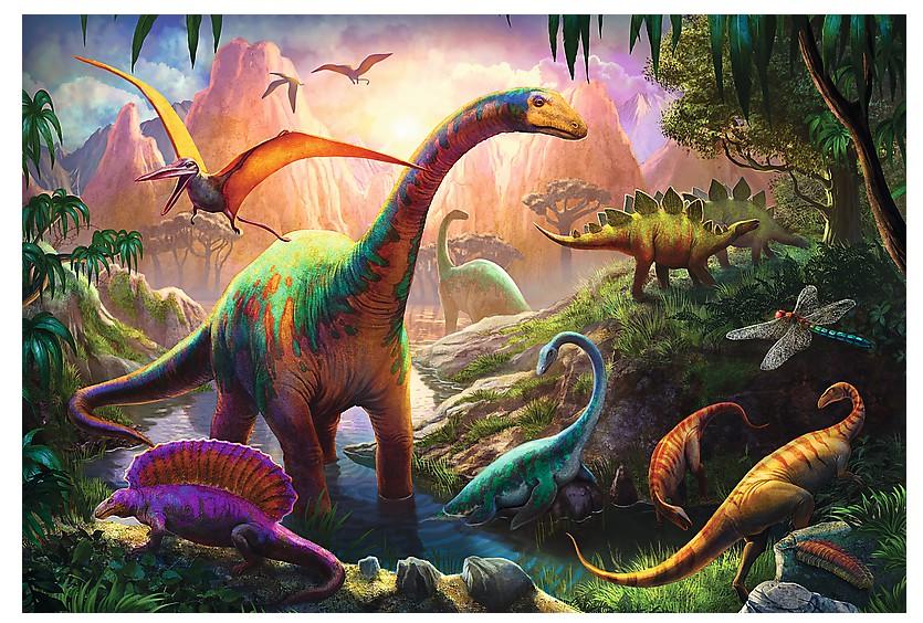 le-monde-de-dinosaures