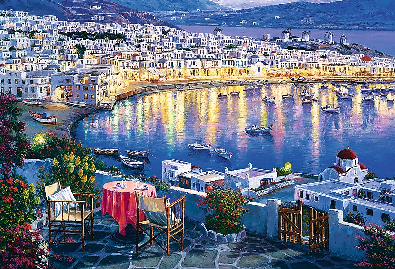 mykonos-at-sunset