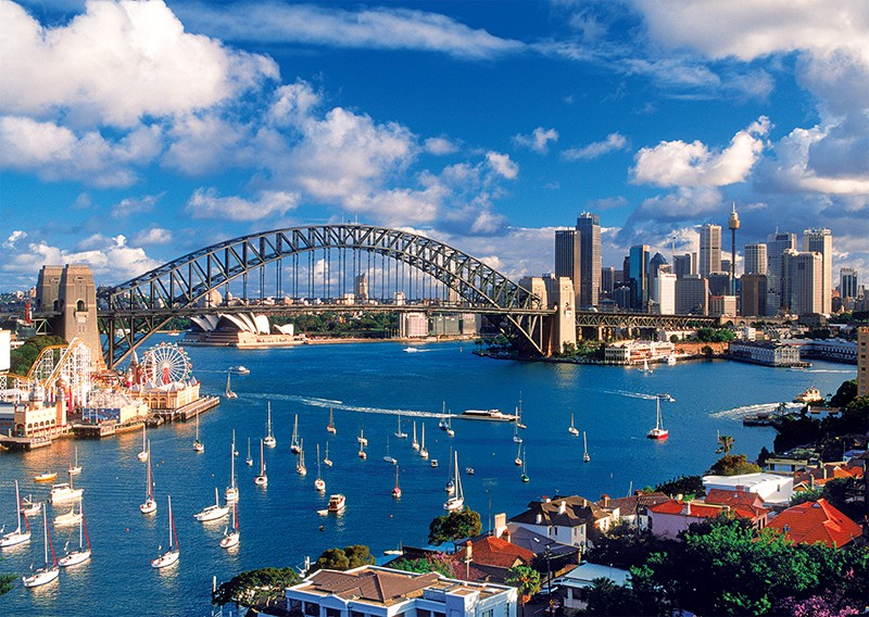 australie-sydney-port-jackson, 14.95 EUR @ go