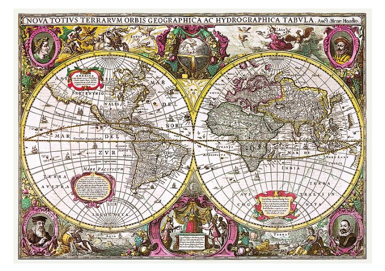 a-new-land-and-water-map-of-the-entire-earth-1630, 19.95 EUR @ go