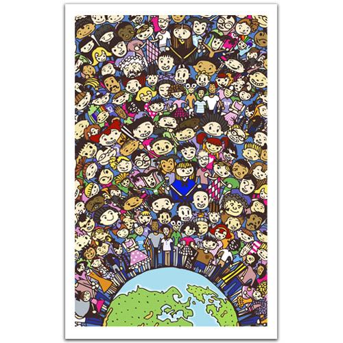puzzle-en-plastique-une-seule-terre-une-seule-famille