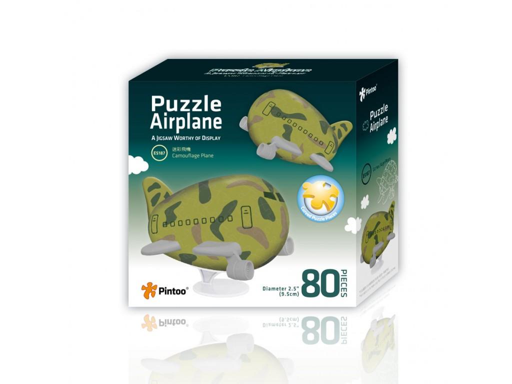 puzzle-3d-avion-camouflage