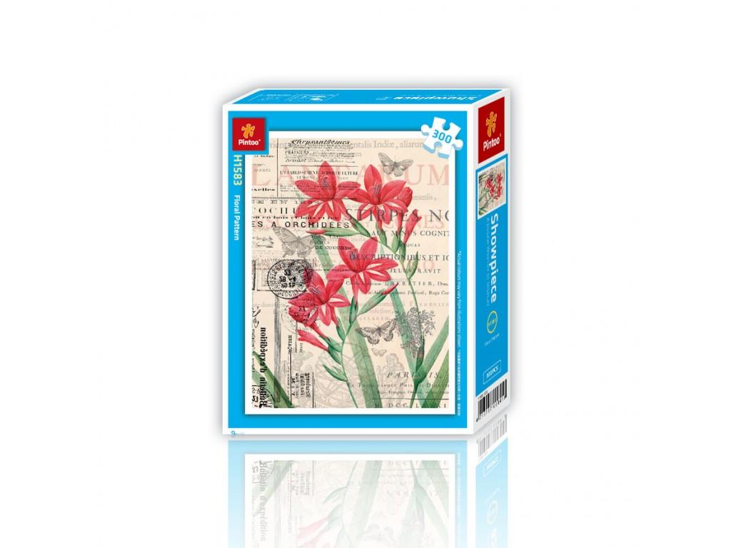 puzzle-en-plastique-floral-pattern