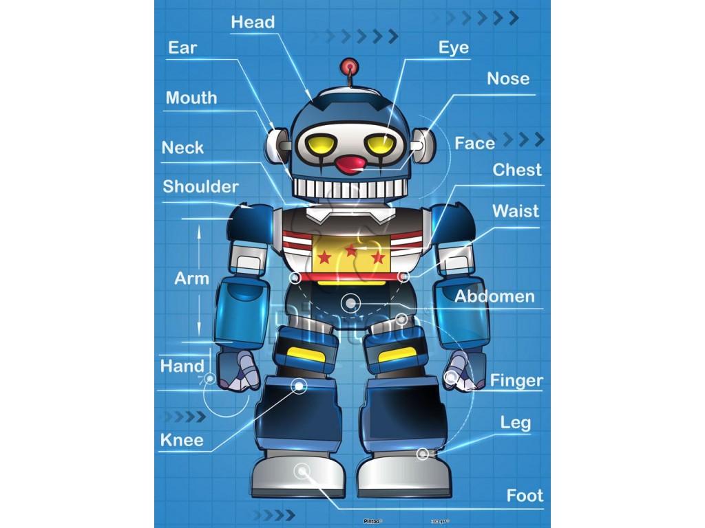 puzzle-en-plastique-robot