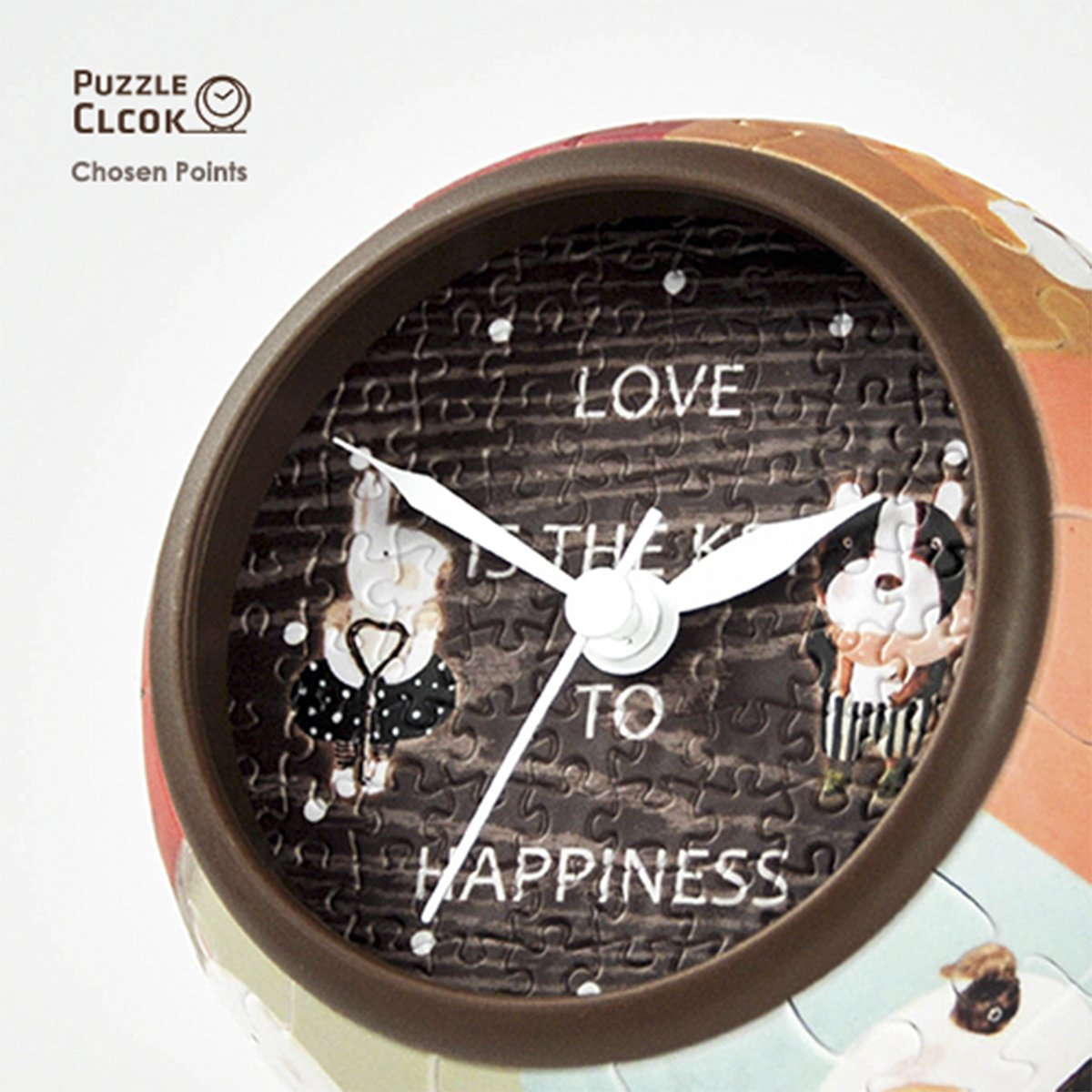 puzzle-3d-clock-love-is-key-to-happiness