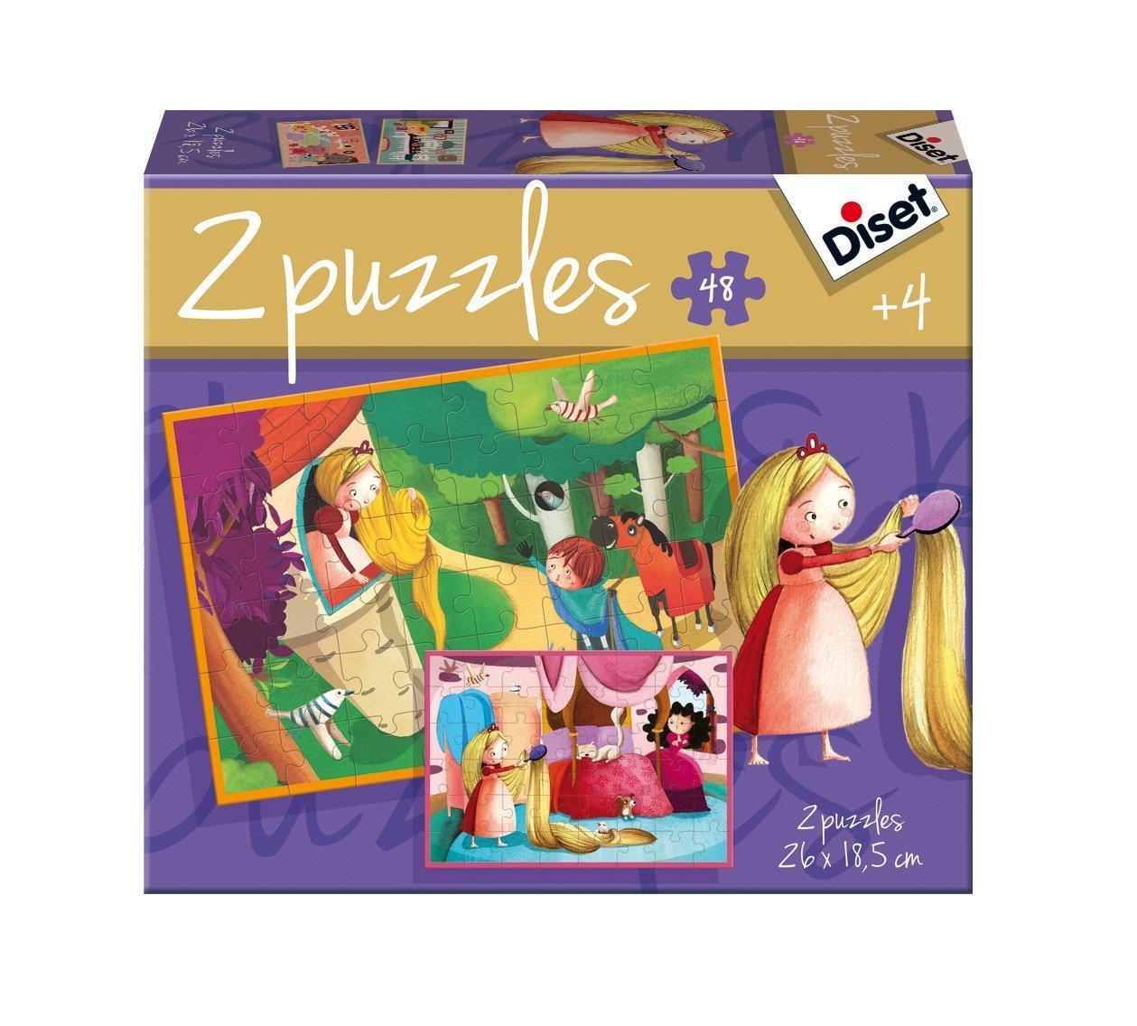 2-puzzles-raiponce, 8.96 EUR @ go