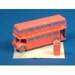Schreiber-Bogen-563 Maquette en carton : Bus londonien