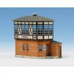 Schreiber-Bogen-583 Maquette en carton : Station d'aiguillages Poseneck