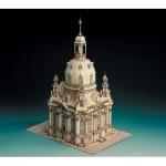 Schreiber-Bogen-591 Maquette en carton : Eglise de Dresde, Allemagne