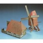 Schreiber-Bogen-607 Maquette en Carton : Moulin à Vent et bâtiment de Ferme
