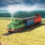 Schreiber-Bogen-618 Maquette en carton : Locomotive à vapeur