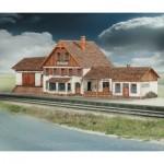 Schreiber-Bogen-619 Maquette en carton : Station de train de Friedbach