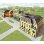 Schreiber-Bogen-635 Maquette en carton : Château de Schönbrunn