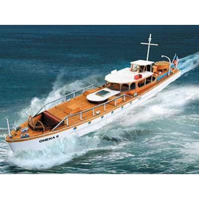 Schreiber-Bogen-653 Maquette en Carton : Motoryacht OHEKA II