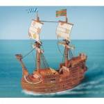 Schreiber-Bogen-675 Maquette en Carton : Bateau Pirate