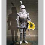 Schreiber-Bogen-683 Maquette en Carton : Chevalier en armure