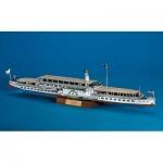 Schreiber-Bogen-696 Maquette en Carton : Le bateau à vapeur Dresden