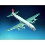 Schreiber-Bogen-70933 Maquette en Carton : Douglas DC-7C