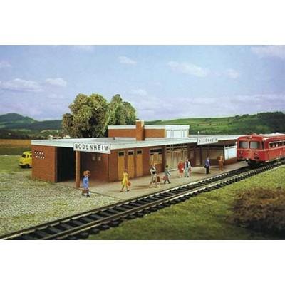 Schreiber-Bogen-71403 Maquette en Carton : Station Bodenheim