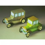 Schreiber-Bogen-71456 Maquette en Carton : Deux voitures anciennes Ford T