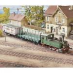 Schreiber-Bogen-715 Maquette en Carton : Württemberg T3 Locomotive