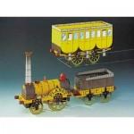 Schreiber-Bogen-71554 Maquette en carton : Train à vapeur Stephenson's Planet