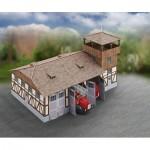 Schreiber-Bogen-717 Maquette en Carton : Caserne de Pompiers