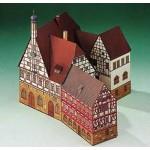 Schreiber-Bogen-72198 Maquette en Carton : Mairie de Forchheim