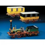 Schreiber-Bogen-72215 Maquette en Carton : Train des Aigles de Ludwig