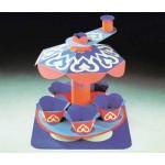 Schreiber-Bogen-72238 Maquette en carton : Carrousel oriental