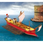 Schreiber-Bogen-723 Maquette en Carton : Quinquereme Romain