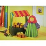 Schreiber-Bogen-72375 Maquette en Carton : Femme de marché avec étal de vente