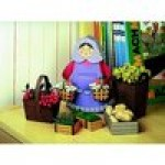 Schreiber-Bogen-72376 Maquette en carton : Femme avec ses paniers