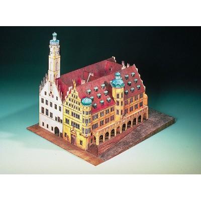 Schreiber-Bogen-72432 Maquette en Carton : Hôtel de Ville de Rothenbourg