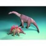 Schreiber-Bogen-72438 Maquette en carton : Deux dinosaures