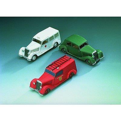 Schreiber-Bogen-72442 Maquette en Carton : Mercedes Benz 170 V : trois modèles