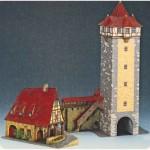 Schreiber-Bogen-72455 Maquette en Carton : La tour de Rothenbourg