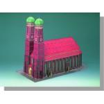 Schreiber-Bogen-72459 Maquette en Carton : Cathédrale de Munich