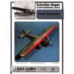 Schreiber-Bogen-72494 Ford Tri-motor Airplane