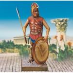 Schreiber-Bogen-727 Maquette en Carton : Soldat dans la Grèce antique