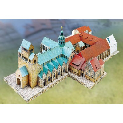 Schreiber-Bogen-742 Maquette en Carton : Cathédrale d'Hildesheim