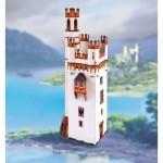 Schreiber-Bogen-745 Maquette en Carton : Tour de la Souris près de Bingen am Rhein