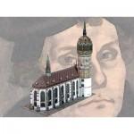 Schreiber-Bogen-758 Maquette en Carton : Eglise du Château de Wittenberg