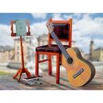 Schreiber-Bogen-762 Maquette en Carton : Guitare