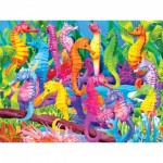 Master-Pieces-31359 Pièces XXL - Glow in the Dark - Singing Seahorses