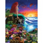 Master-Pieces-31723 Pièces XXL - Book Box - Little Mermaid