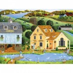 Master-Pieces-31728 Pièces XXL - Heartland - The White Duck Inn