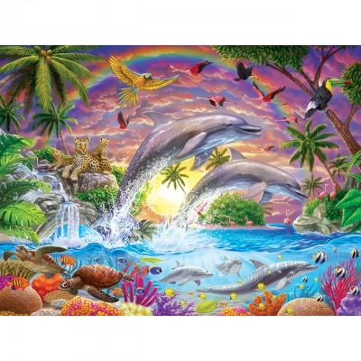 Master-Pieces-31850 Pièces XXL - Fantasy Isle