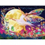 Master-Pieces-31852 Pièces XXL - Glow in the Dark - Moon Fairy